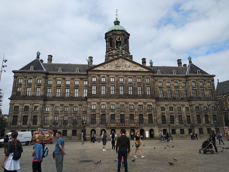 Ruta de un día en Ámsterdam para ver el palacio real