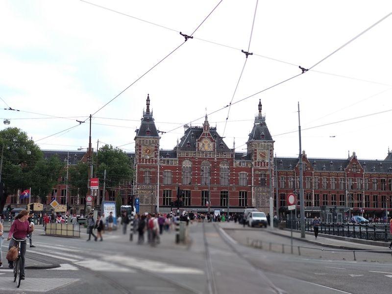 Ruta de un día en Ámsterdam con salida en la estación central
