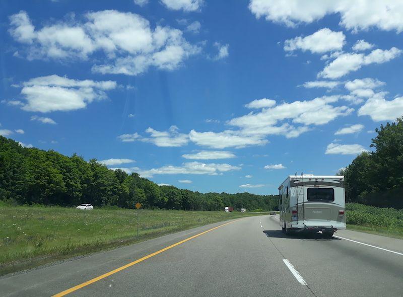 Conducir en Canadá por autopistas