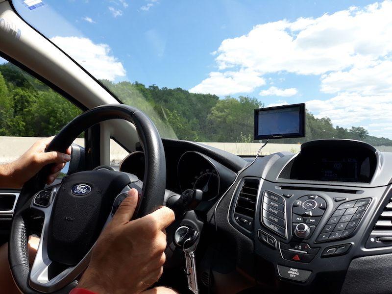 Conducir en Canadá con GPS