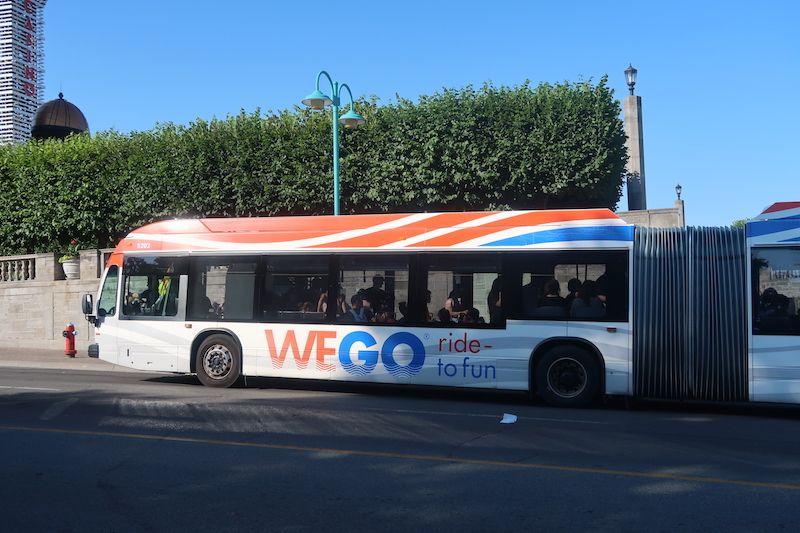 Visitar Niágara para recorrerla en bus