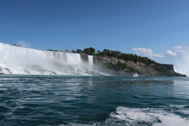 Visitar Niágara para ver los saltos de agua