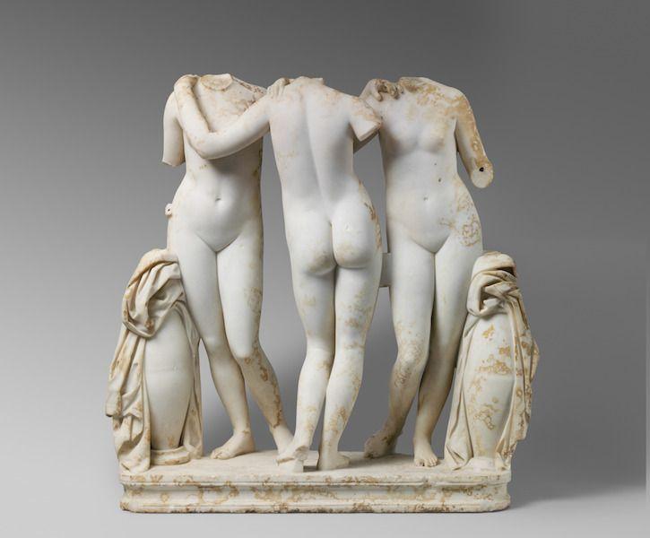 Visitar el Met para ver esculturas romanas