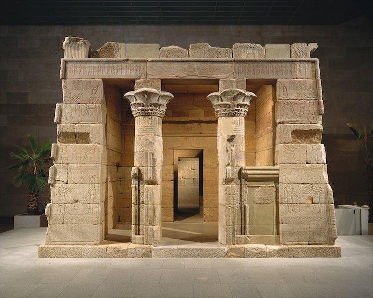 Visitar el Met par aver arte egipcio