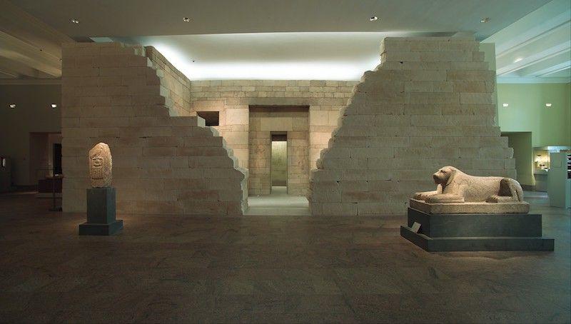 Visitar el Met para ver tumbas egipcias