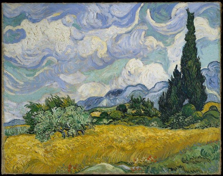 Visitar el Met para ver Van Gogh