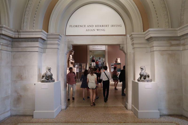 visitar el met para ver sus galerías