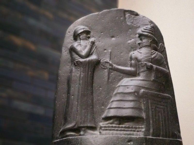 Código Hammurabi en el Pergamo