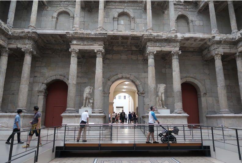 Roma en el Pergamo de Berlín
