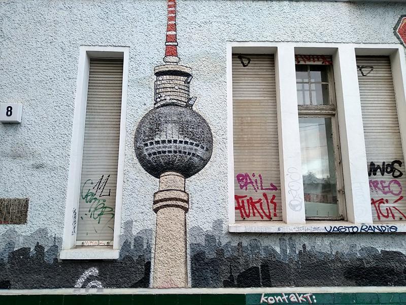 Subir a la torre TV de Berlín