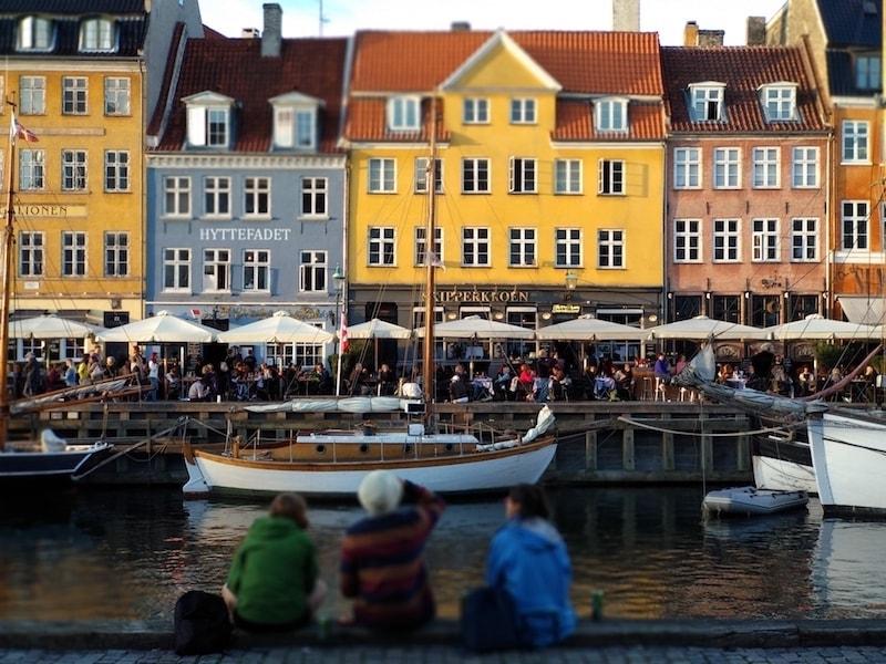 Un día en Copenhague en el canal