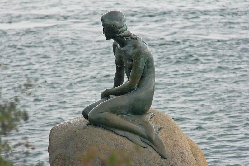 Un día en Copenhague para ver la sirenita