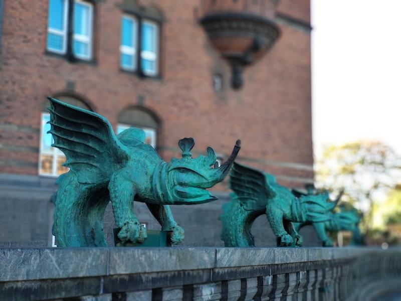Un día en Copenhague en el centro