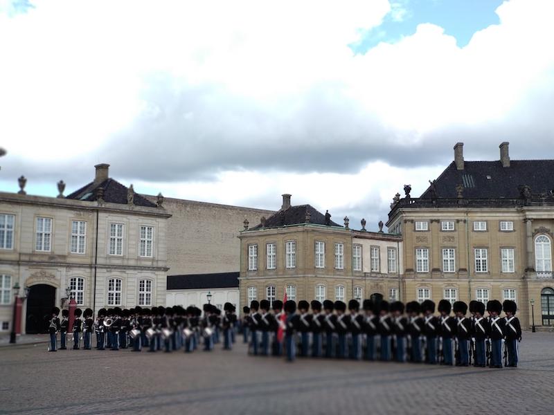 Un día en Copenhague ver el cambio de guardia