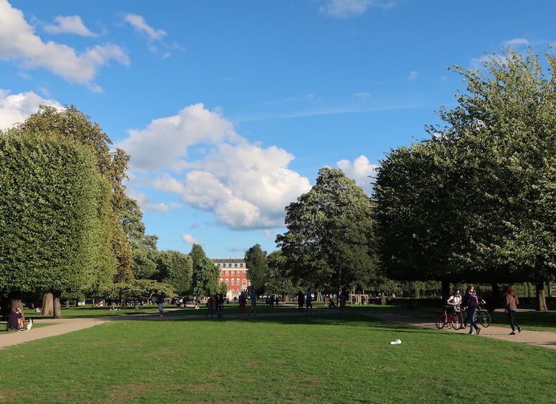 Un día en Copenhague en el parque