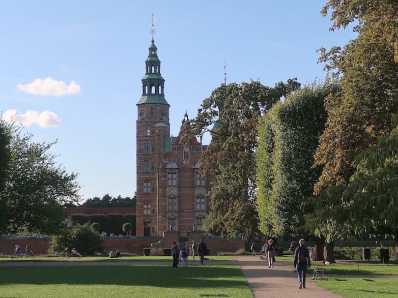 Un día en Copenhague en un palacio