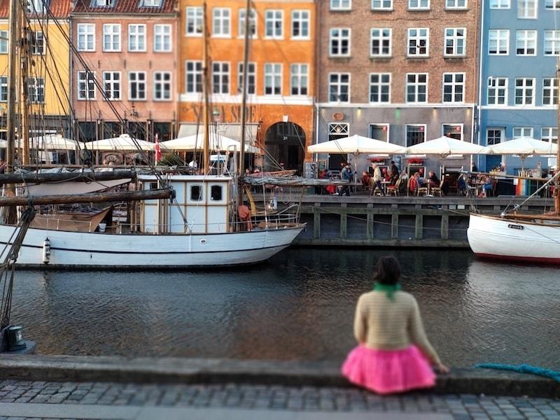 Un día en Copenhague en nhyvan