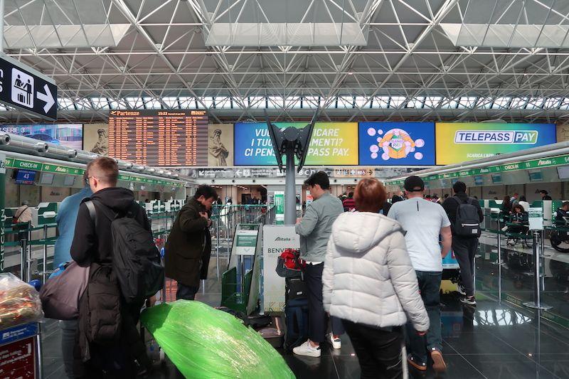 Fiumicino aeroporto Roma