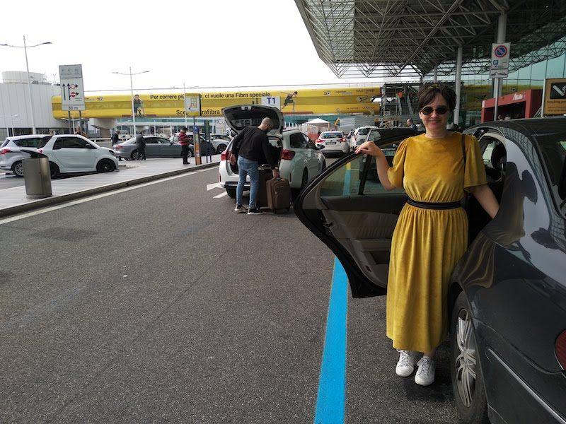 transporte fiumicino para roma