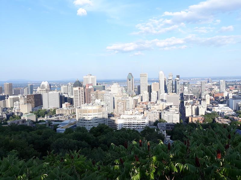 imprescindibles en Montreal las vistas del Downtown