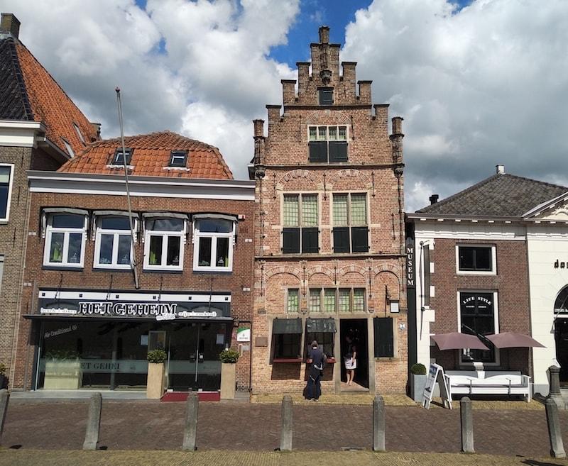 casas típicas de los pueblos más bonitos de Holanda