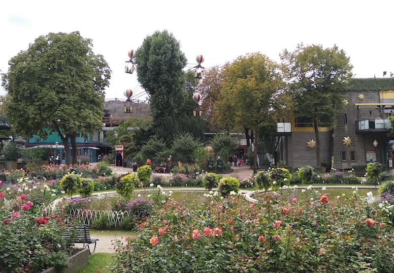 Qué hacer en Tivoli Cophenague en los jardines