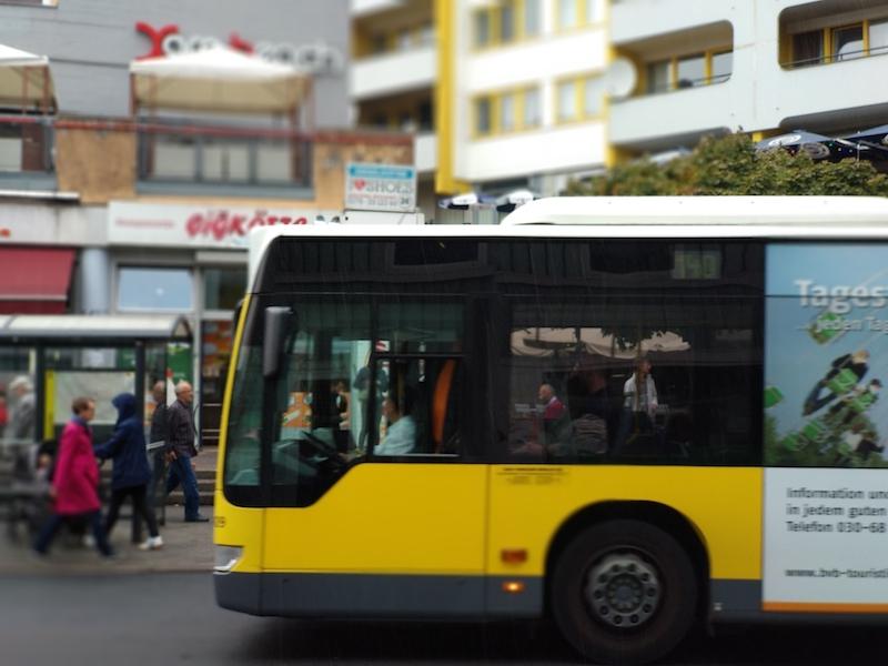 Transporte incluido en la WelcomeCard Berlín