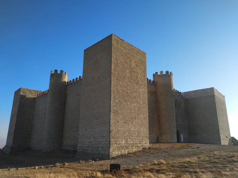 Castillo de montealagre en Valladolid