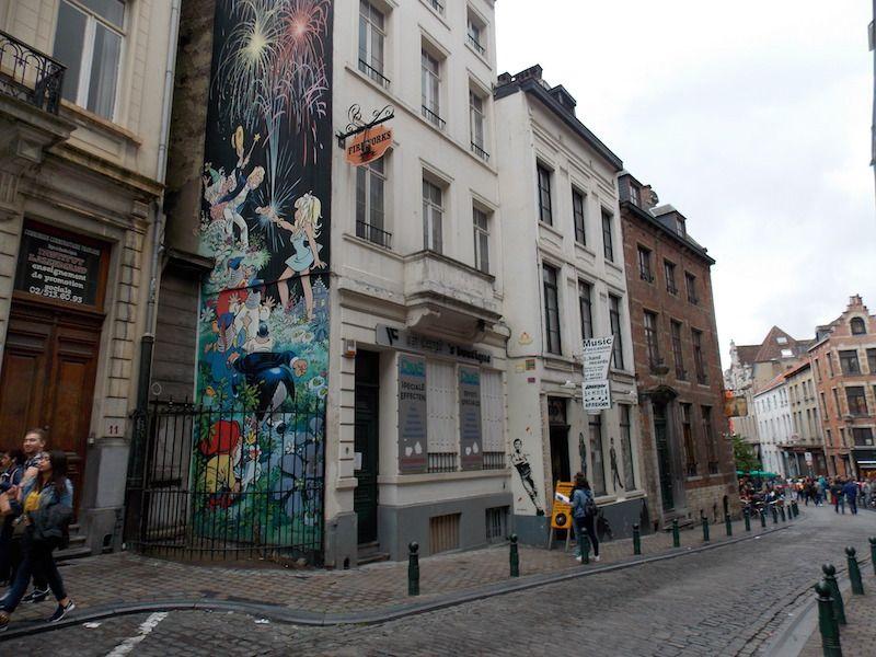 cómic en 48 horas en Bruselas