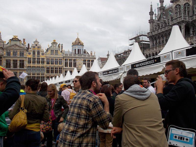 48 horas en Bruselas en la fiesta de la ceveza