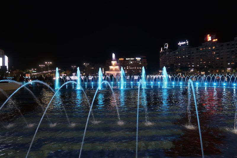 imprescindibles en Bucarest de noche