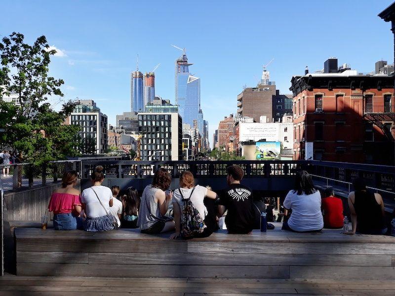 Vistas de Nueva York desde la High Line