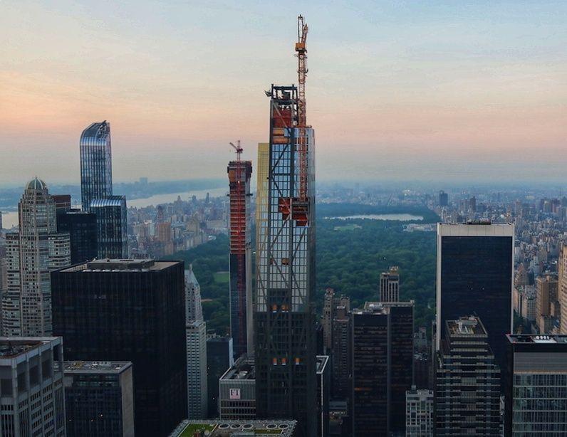 Vistas de Nueva York desde Top of the Rocks