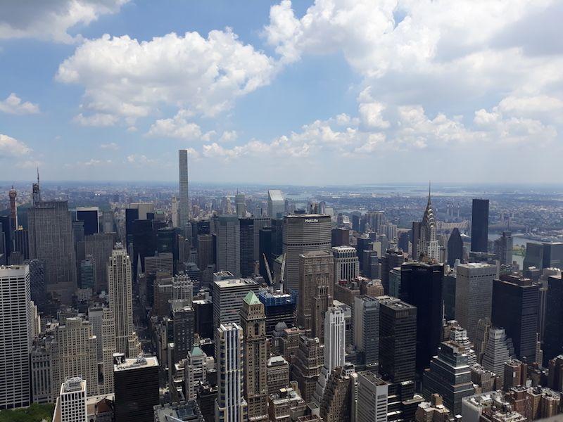 Vistas de Nueva York desde el Empire Sate