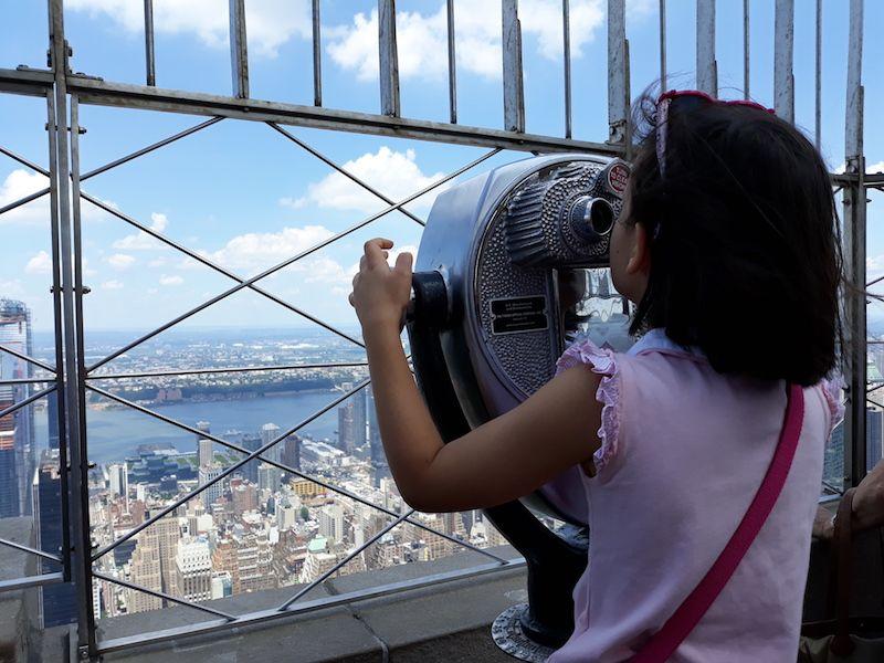 Vistas de Nueva York desde las alturas