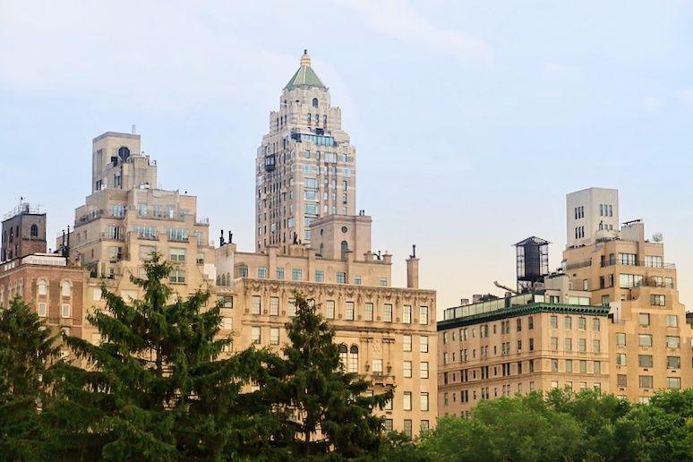 Vistas de Nueva York desde Central park