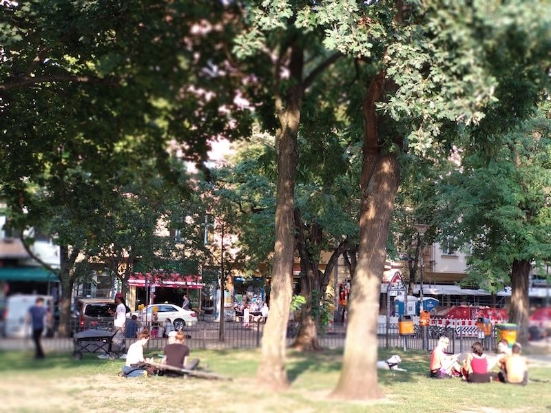 GuestToGuest en Berlín cerca de un parque