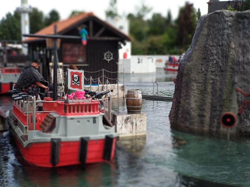 Atracciones de agua Legoland Billund
