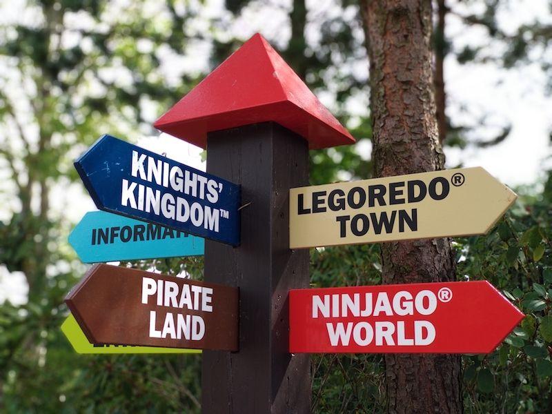 zonas en Legoland Billund