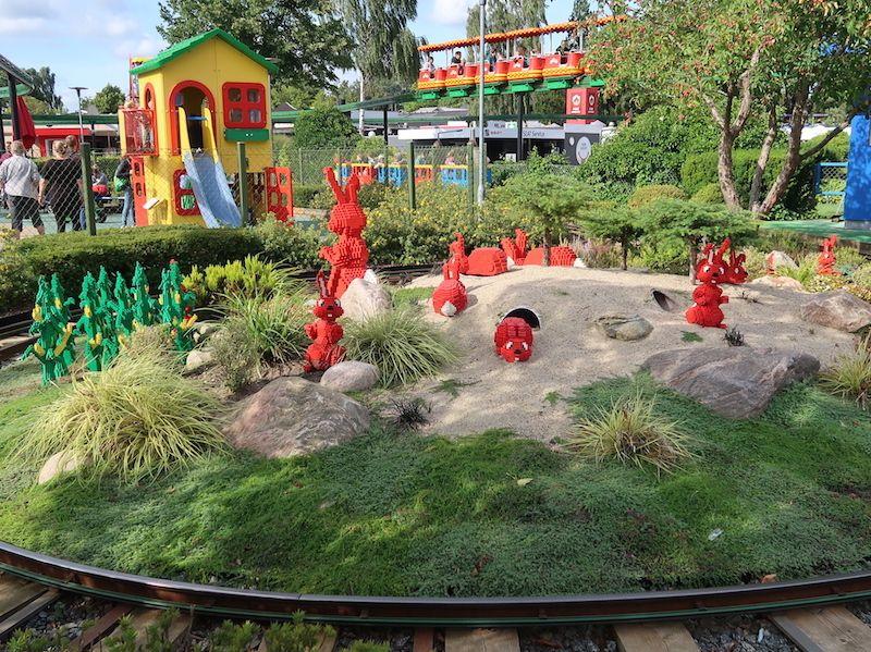 Legoland Billund para niños de menos de 3 años