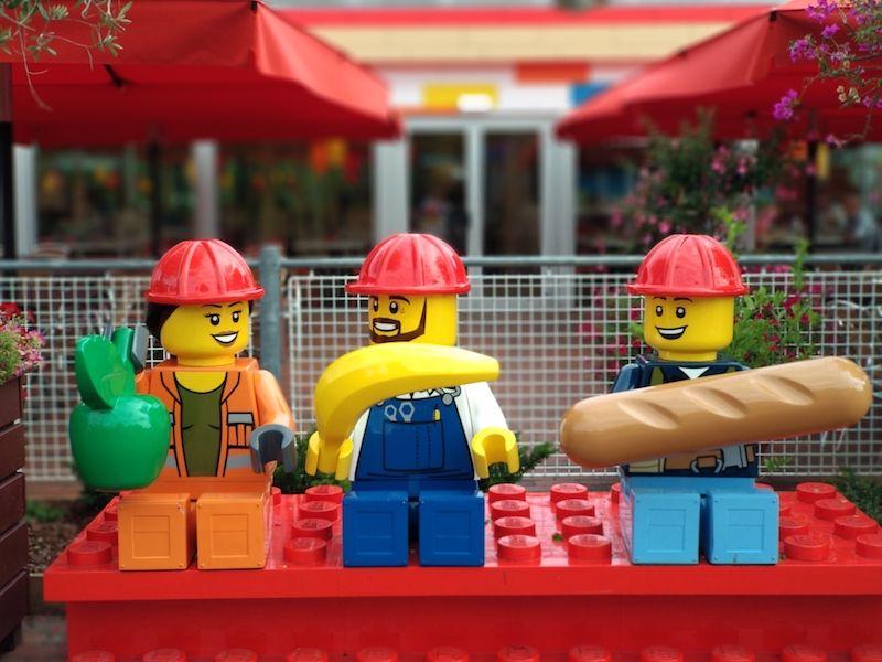 dónde comer en Legoland Billund