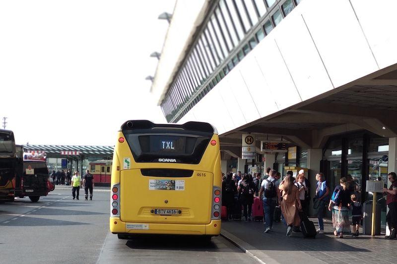 aeropuerto berlin tegel al centro