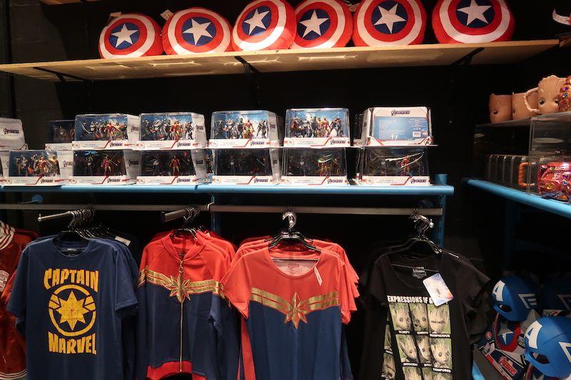 Compras Marvel en Disney París