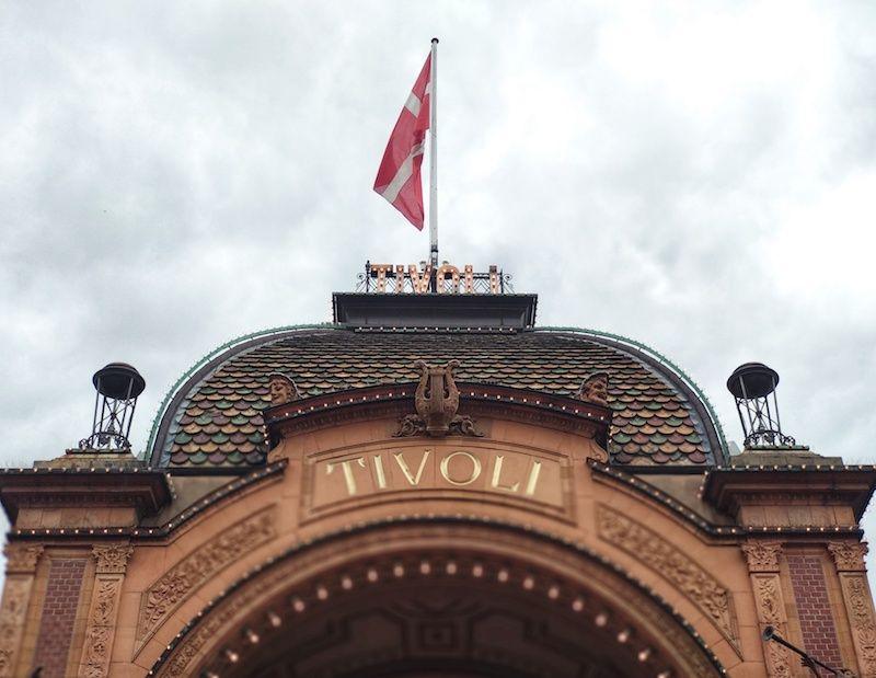 Viajar a Copenhague y Tivoli