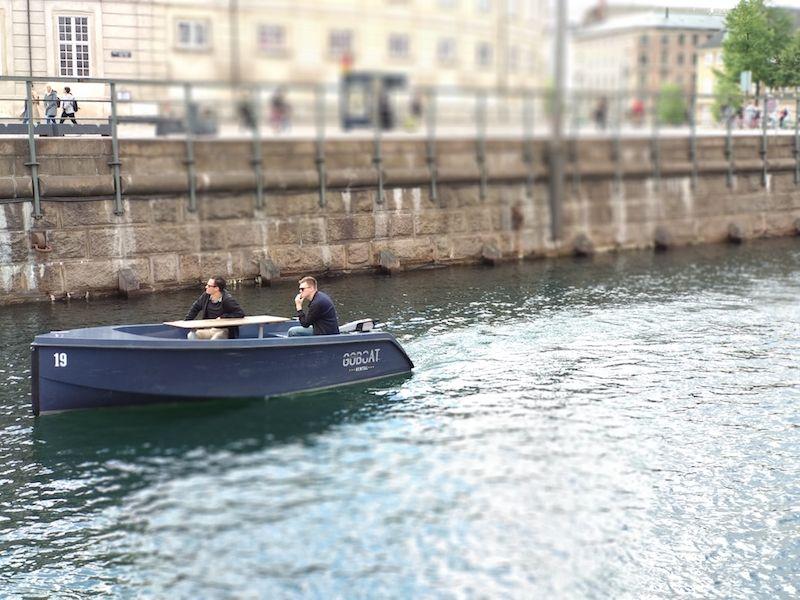 Viajar a Copenhague en barco