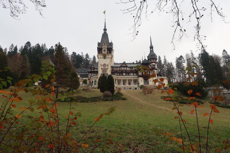 Excursión al castillo de Peles desde Bucarest