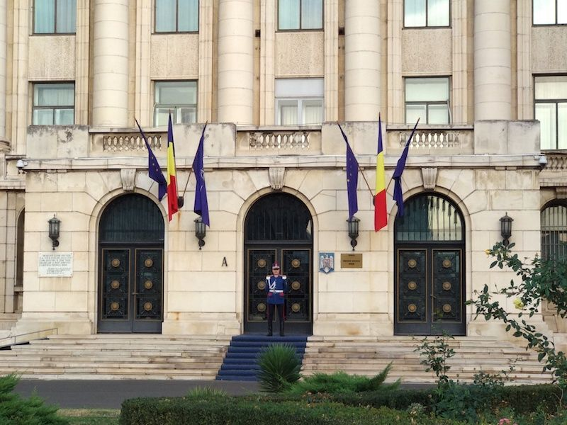 tour comunista en Bucarest