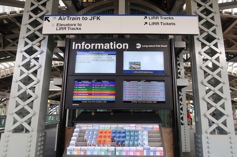 Airtrain JFK a Nueva York precios y líneas
