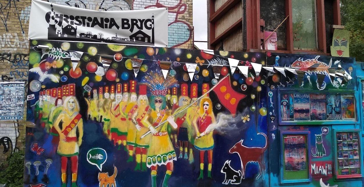 visitar Christiania en Copenhague