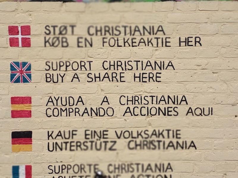 visitar Christiania Dinamarca